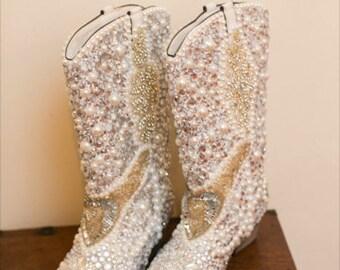 Wedding boots | Etsy