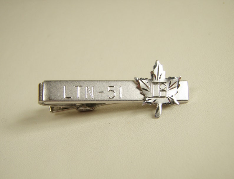 Vintage Anson Litton Industries Canada LTN-51 Tie Clip Inertial Navigation System Aviation Advertising