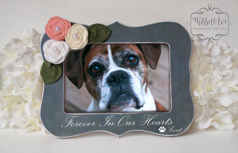 Loss of Pet Picture Frame Loss of Pet Gift Loss of Dog image 0