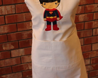 Super Hero Apron - Superman
