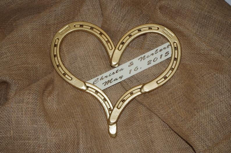 dd84ccb7cb Placa corazón de herradura Herradura boda boda vaquera