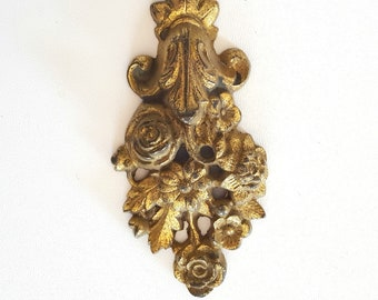 Antique wall hook cover