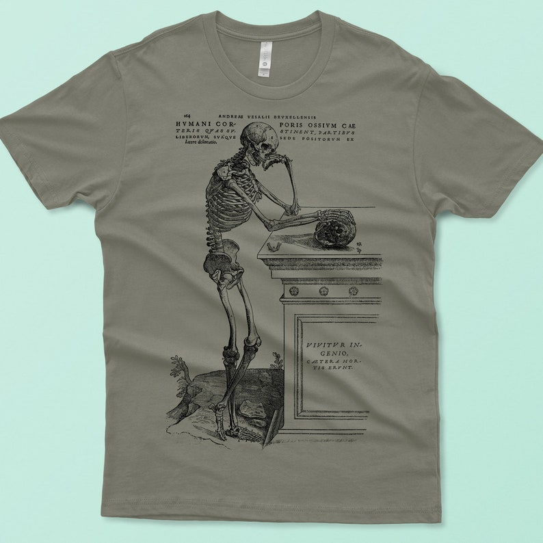13c5a8ce788f9b Herren Shirt Skelett T-shirt Totenkopf T-Shirt grafische