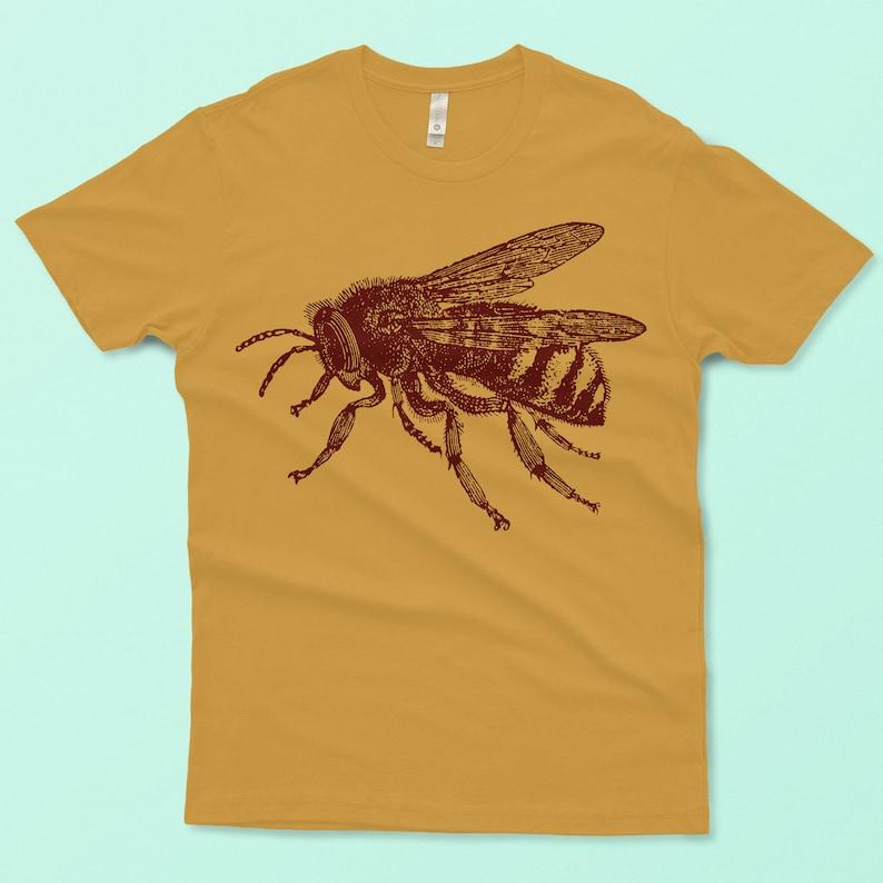 772a4b598 Bee Shirt Men's Bumblebee T-shirt Honey Bee Tee | Etsy