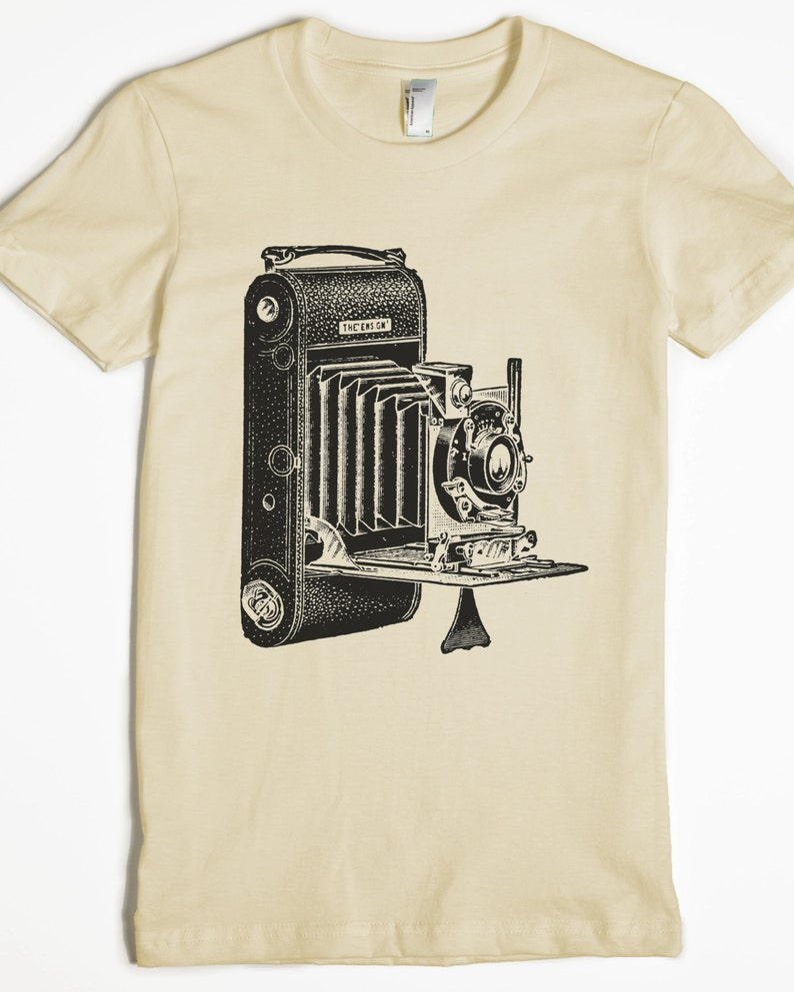 d3c999e180 Women's Shirt Photography T-shirt Camera Tshirt | Etsy