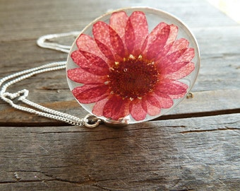 925 Silver Necklace & Blossoms Pendant