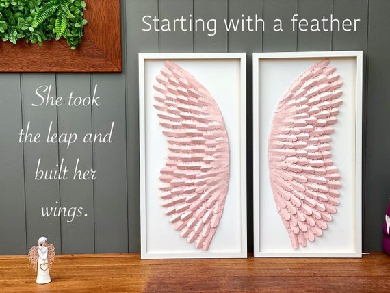 30 Inch Angel wings Nursery Wall Decor