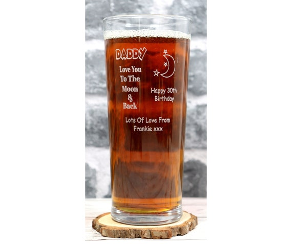 Engraved Vodka /% Highball Glass Gift For 18th//21st//30th//40th//Birthday//Mum//Dad