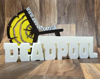 Deadpool Pen/Pencil holder desk organizer - 3D Printed.