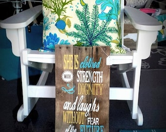 Proverbs Pallet Sign