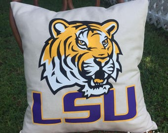 LSU Tigers  Pillow Case