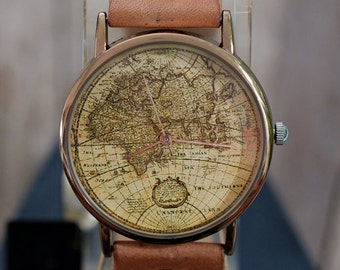 Map watch | Etsy