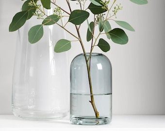 Glass Table Vase Etsy