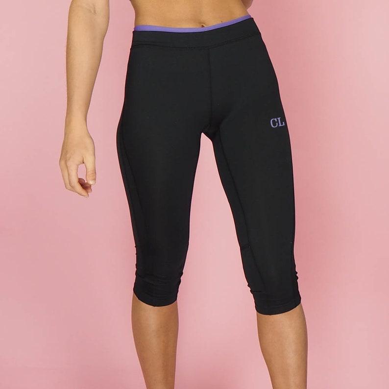 043fa20c713b2 Personalised Womens Fitness Capri Pant Women's Gym | Etsy