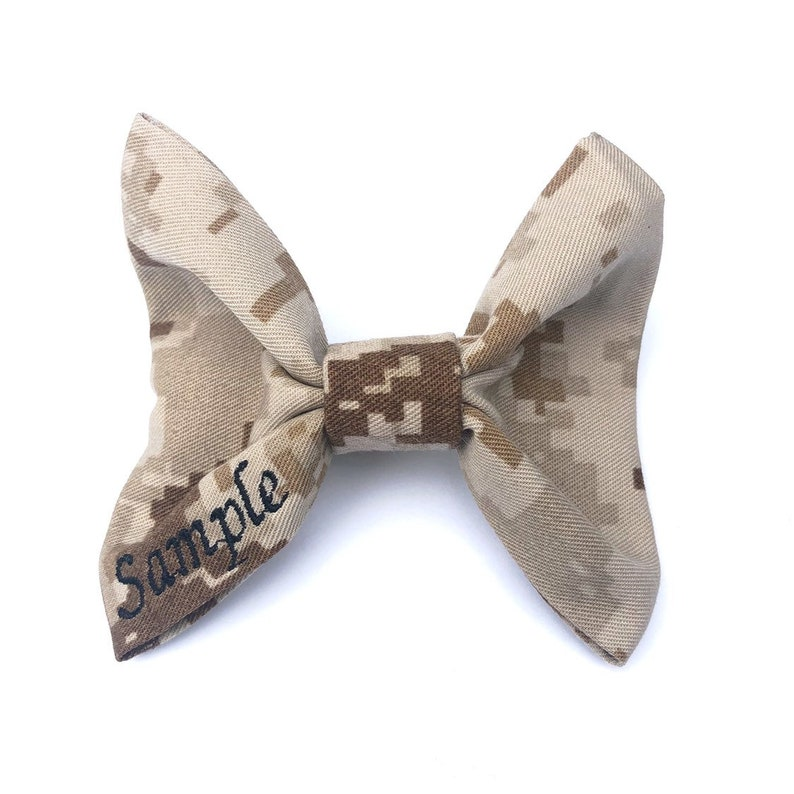 The United States Marine Corps On A New Black PRE-TIED BOW TIE w Gift Box