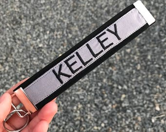 Thin Grey Line Personalized Keychain | Correctional Officer Gift | Correctional Officer | Corrections keychain | Thin Grey Line | Grey Line