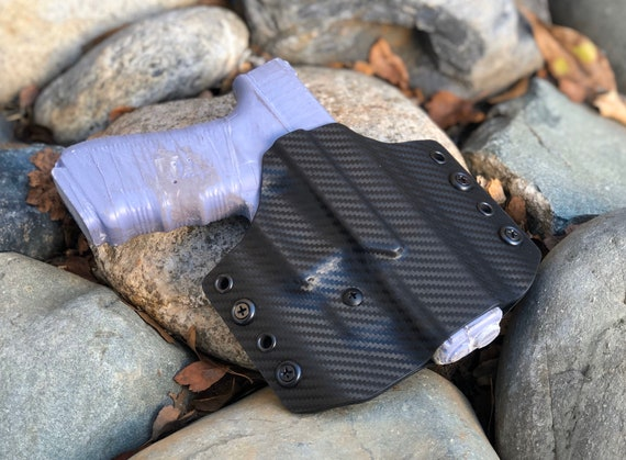 Glock OWB Holster 19/17/26 - Fits Most Double Stack 9mm or 40cal Glocks