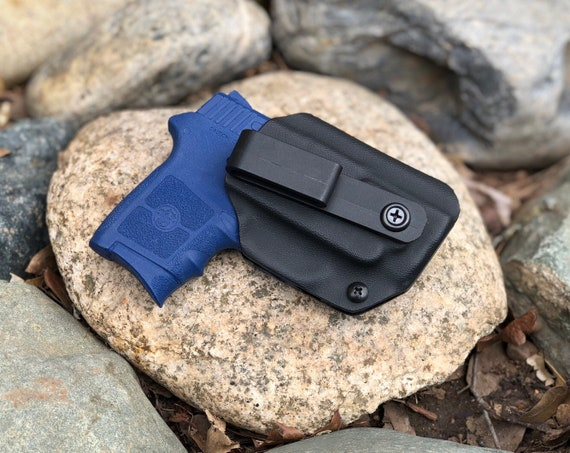 Smith And Wesson Bodyguard with Laser - Kydex Concealed Carry Appendix Holster - IWB