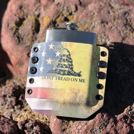 Kydex Flask Holster - DTOM American Flag Edition