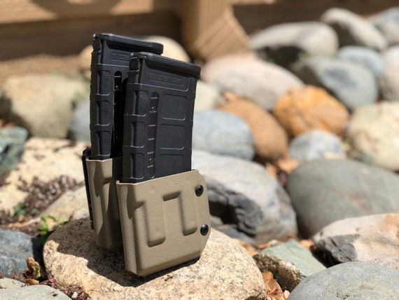 QUICK SHIP - AR-15 Double Magazine Carrier- Double Stack - DD556