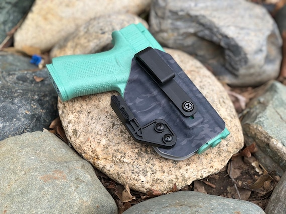 Glock 43x / Glock 48 - Kydex Concealed Carry Appendix Holster