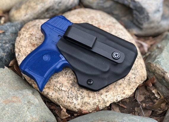 Kydex Concealed Carry Appendix Holster - IWB Ruger LC9 with Crimson Trace
