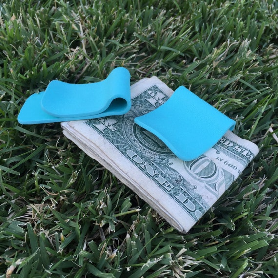 Kydex Money Clip -  Aqua Blue
