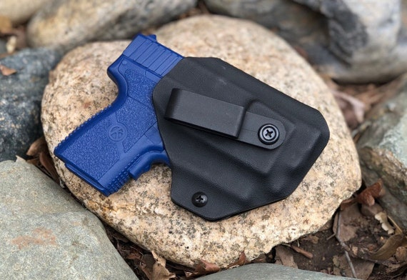 IWB Kahr cw380 with Laser - Kydex Concealed Carry Appendix Holster