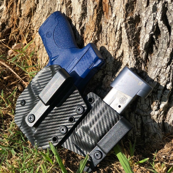 Appendix Holster - AIWB Kydex Holster With Adjustable Mag Carrier