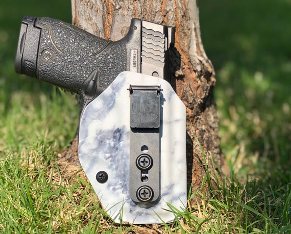 hield 9/40 - Limited Edition! Kydex IWB Appendix Holster - Marble White