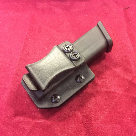 Single Magazine Carrier - 9/40 Double Stack - Inside or Outside The Waistband