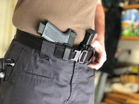 Self Protection Kit - Belt, Holster, and Magazine Carrier Combo Deal