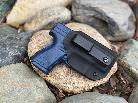 Springfield XD9SC OR XD40SC - Kydex Concealed Carry Appendix Holster