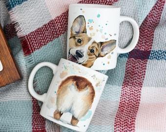 Corgi Butt Coffee Mug - Corgi Gift - Pet Mom - Dog Mom - Christmas Gift - Corgi Butt - Corgi Dad Gift - Corgi Mom Gift