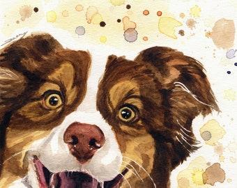 Custom Pet Portrait - Watercolor pet portraits