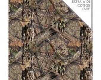 Mossy Oak Break-up Country Yardage for Hunting Clothes, Camouflage Fabric, Grass Fabric, Extra Wide Hunting Fabric Camelot 46170101