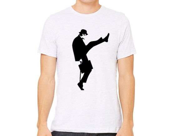 616d404a Monty Python Ministry of Silly Walks White Unisex T-Shirt | Etsy