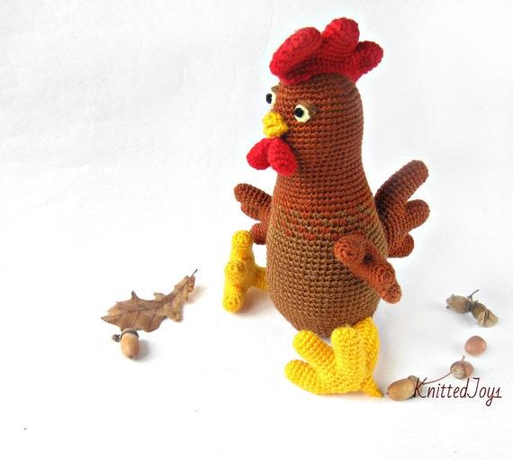 Hahn häkeln Hahn zu Häkeln Spielzeug Geschenk Weihnachten   Etsy