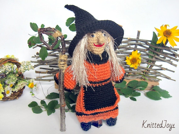 Hexe Häkeln Halloween Puppen Amigurumi Geschenk Häkeln Puppe Etsy
