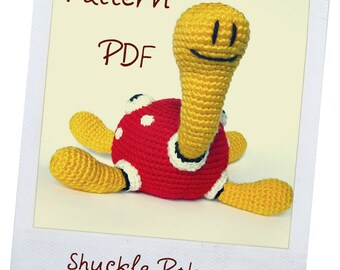 pattern shuckle crochet  pattern pokemon PDF