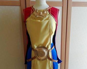 Soraka of League of legend cosplay