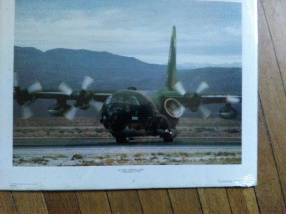66d8a8bde60 Air Force lot of 3 16x20 SR-71 Blackbird C-130 Hercules