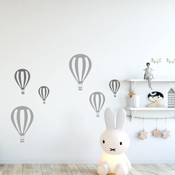 Hot Air Balloon Nursery Wall Decorations Etsy