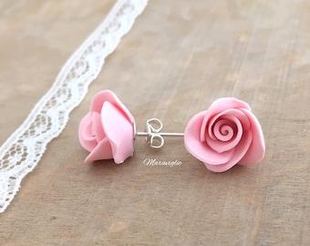 Orecchini rose  9fb206c03fb4