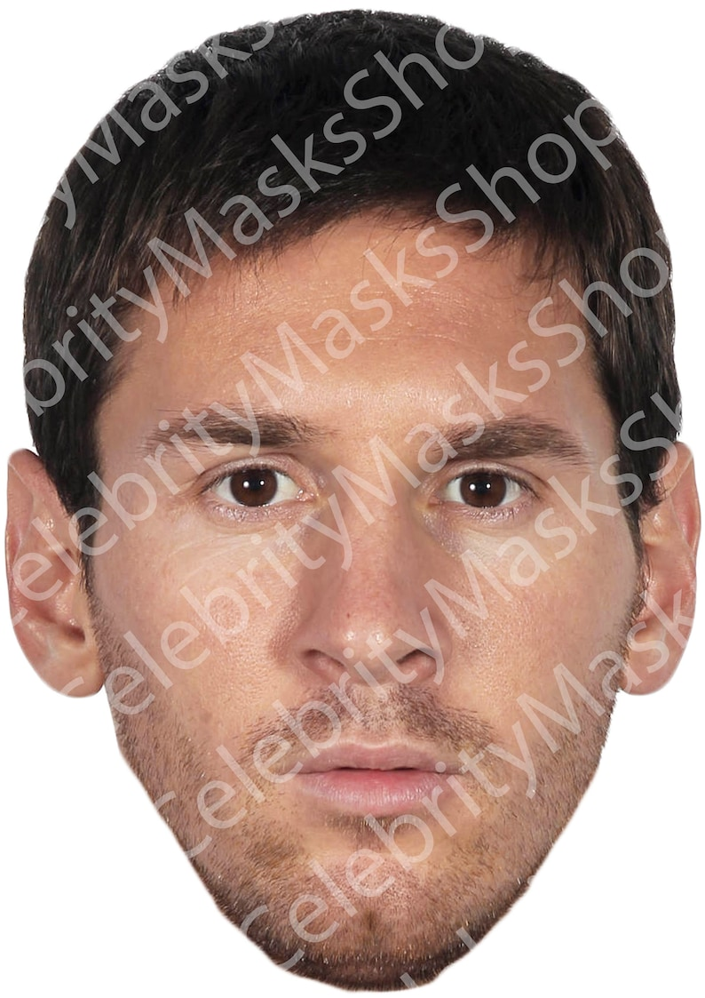 FUN FANCY DRESS PARTY FESTIVAL STAG HEN DO NEW LIONEL MESSI MASK