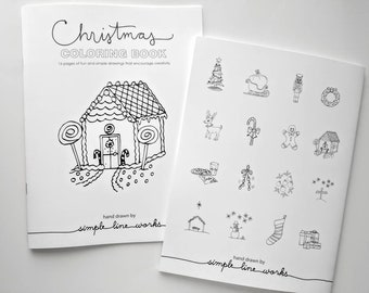Coloring Book - Christmas