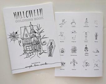Coloring Book - Halloween