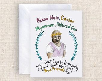 Peeno Noir (Pinot Noir) Titus Greeting Card