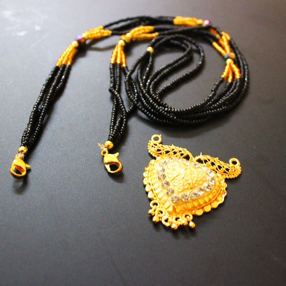 Indian Wedding Necklace Traditional Gold Plated Fashion Long Etsy