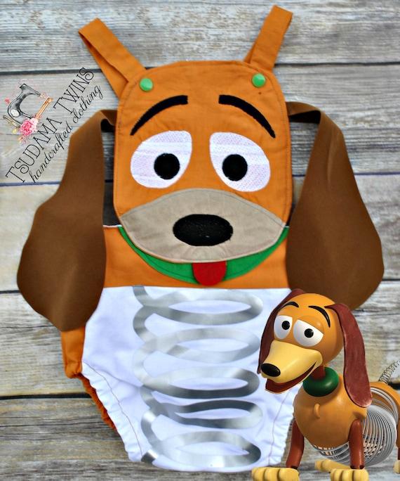 Toy Story Slinky Costume Slinky Costume Toy Story Inspired Etsy